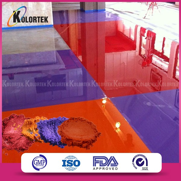 Metallic Effect 3d Flooring Powder Pigment For Coating