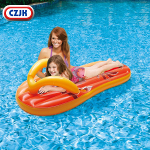 Floats For Adults Water Mattress Custom Logo Swimming Mats Inflatable Slipper Pool Float