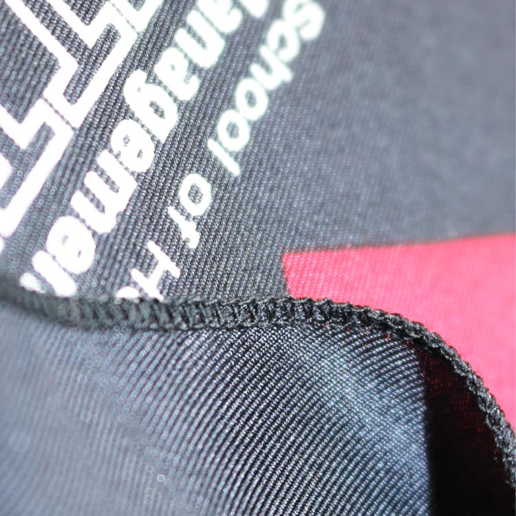 screen print silk twill scarves for Switsland Education Group