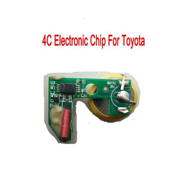 Hot sale 4C duplicatable electronic chip transponder Chip for Toyota Auto Car Key