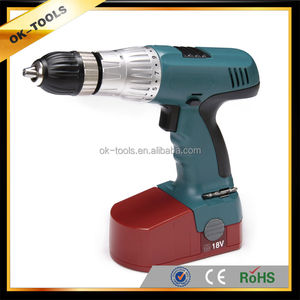 2014 new ok-tools technology safety switches electric impact cordless drill of Power tools alibaba China