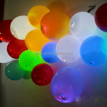Hot Led glowing balloons Party balloons new products Toys for Christmas Promotional Toy Use toy inside balloon