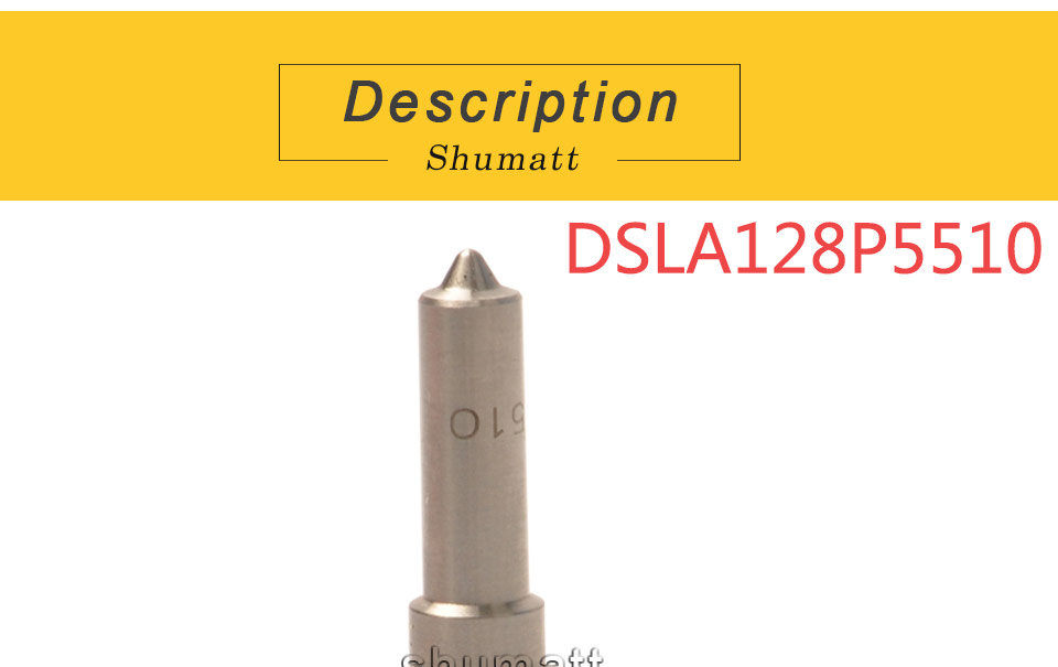 Cummin injection DSLA128P5510 B-osch injector nozzle for 0445120059