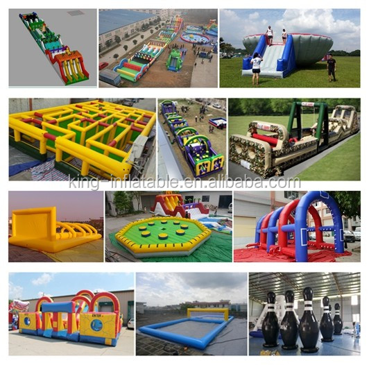 2019 New Products Two Lanes Exciting Inflatable Water Slide