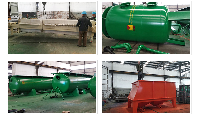 DAF air floating machine for removing oil and solids waste water treatment plant