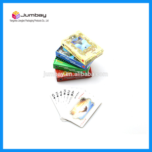 plastic playing cards 555