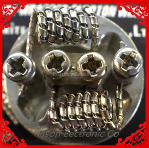 Molde vapor Twisted wire good build coil fused clapton