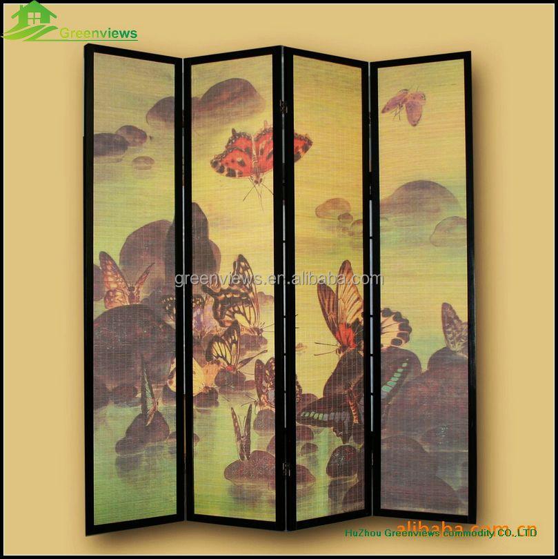 고풍스러운 나무 병풍 저렴한 장식 chinest 스타일의 화면 병풍 룸 ...