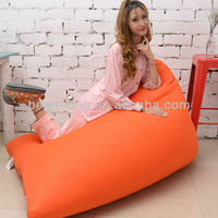 New Product Attractive Appearance Mesh Fabric Triangle sofa bed Bean Bag