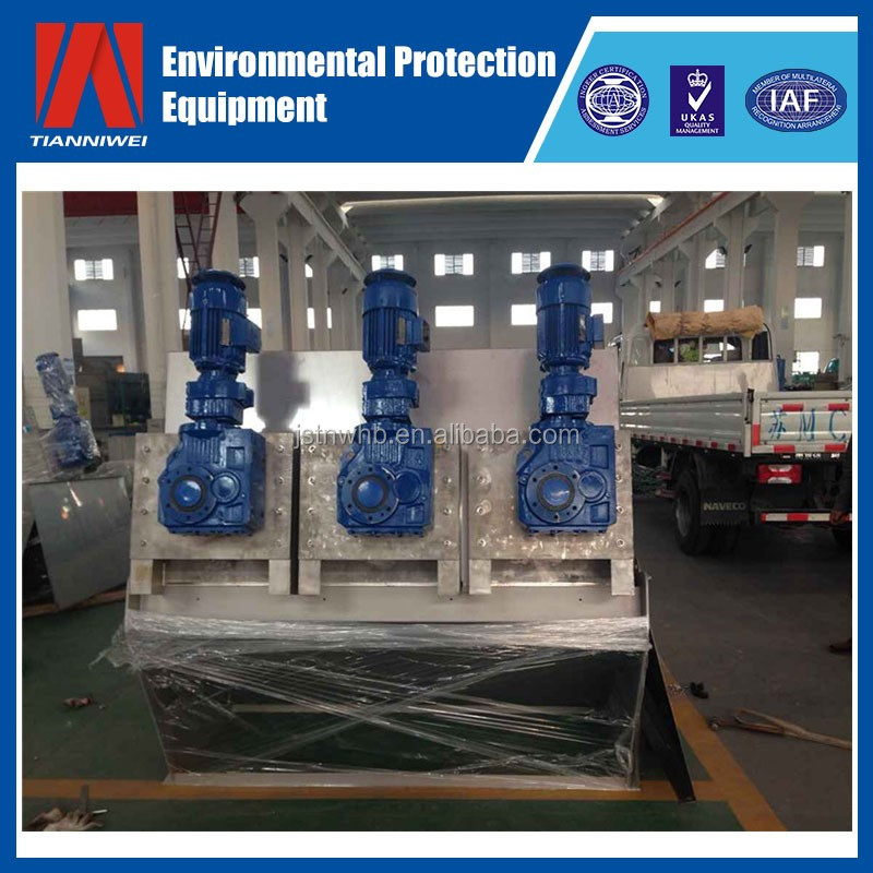 Sludge dewatering equipment for Industrial wastewater treatment listing Corporation