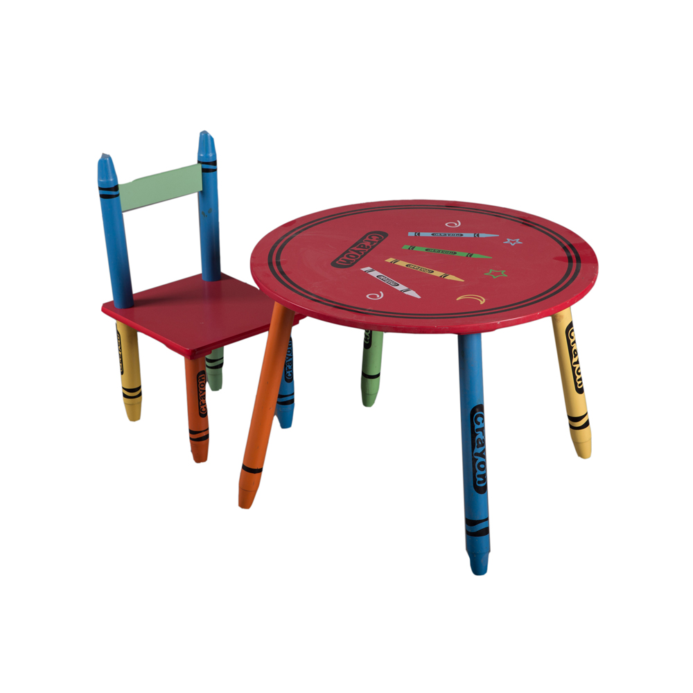 Super Crayon Style Design Colorful Kids Round Table And Chairs View Kids Round Table And Chairs Sunrise Product Details From Fuzhou Sunrise Creation Ocoug Best Dining Table And Chair Ideas Images Ocougorg