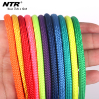 NTR good quality Green polyester rope flat nylon rope