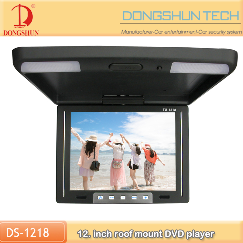 HDMI Optional top grade 12.1inch car roof monitor