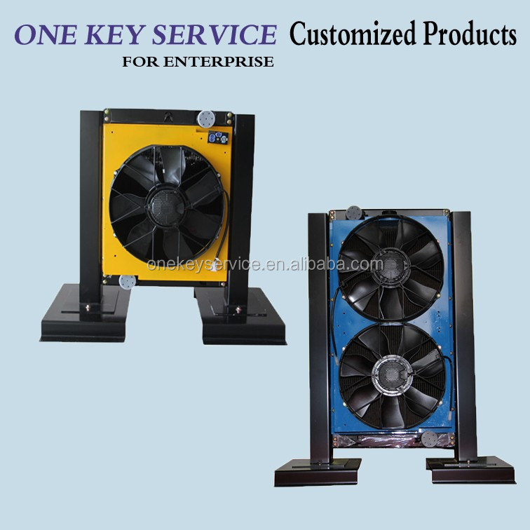 Auto Temperature-control Radiator Fan For New Energy Bus