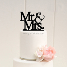 Newest mr and mrs Wedding Cake Topper acrylic