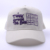 Custom embroidered cotton twill white trucker hat for sale