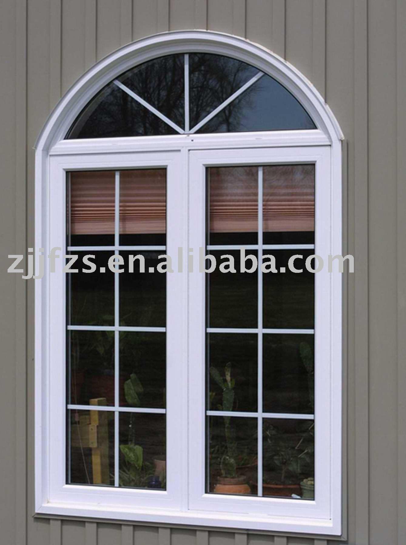 pvc fl gelfenster mit gitter europa design pvc fenster pvc bogen fl gelfenster fenster produkt. Black Bedroom Furniture Sets. Home Design Ideas
