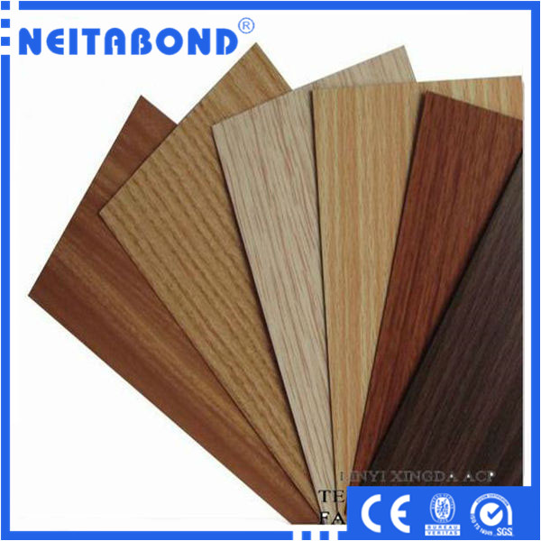 Wood Composite Panel : Aluminum composite panel wood finish alucobond price