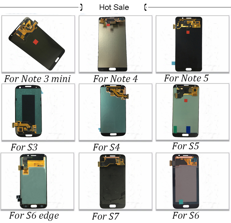 Trade Assurance screen display for samsung s6 edge unlocked,factory supplier screen for galaxy s6 edge lcd