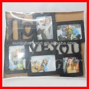 Six Pictures Photo Frame For Family Different Types Photo Frames ...
