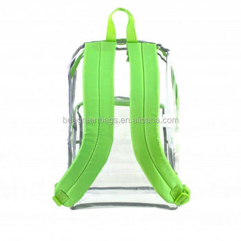 167ac4e8eb29 Beegreen Cheap Pvc Plastic Transparent Backpacks - Buy ...