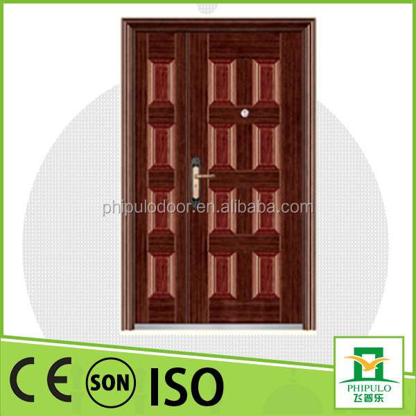 The latest style fireproof security interior door with sound proof design from china