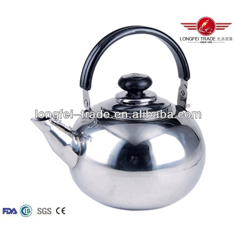stainless steel water and tea pots/tea cup pot in one