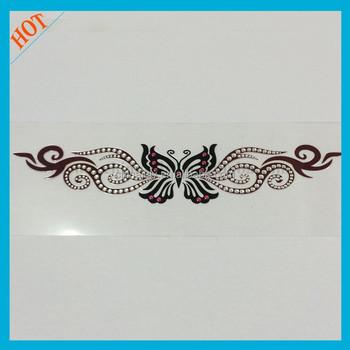 Bulk stock factory rhinestones crystal body tattoos buy for Rhinestone body tattoos