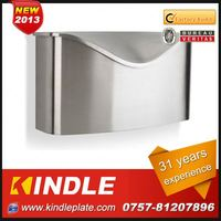 Kindle modern wall mounted OEM & ODM High Quality mailbox posts cast aluminium for sale with 31 years experience