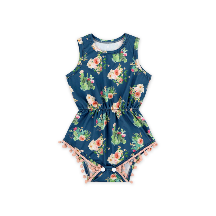 deab64a6551d Pom Pom Romper For Baby Girl Wholesale, Romper Suppliers - Alibaba