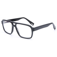 New acetate ray band eyeglass frame glasses Popular brand optical frame In stock