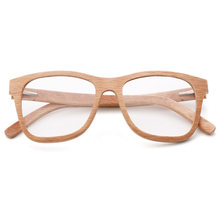 Оправа для очков из 100% натурального дерева для мужчин и женщин, мужские Оптические очки с прозрачными линзами, чехол 56342(Китай)