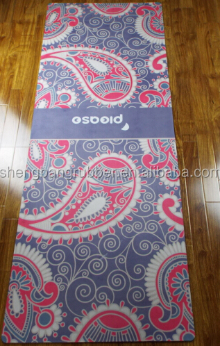 High quality & luxury cotton yoga mat