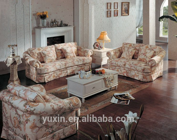 French Classic Sofa Set Designs Fancy Fabric Corner Sofa