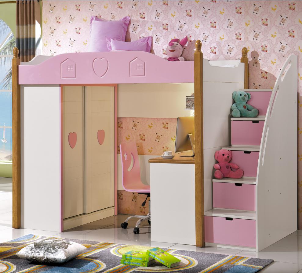 Muebles para espacios reducidos dormitorios ideas para for Recamaras para ninos espacios pequenos