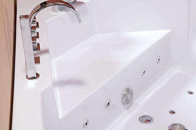 Vasca Da Bagno Triangolare Prezzo : Iaurora triangolare getto daria ja cu zzi massaggio vasca da bagno