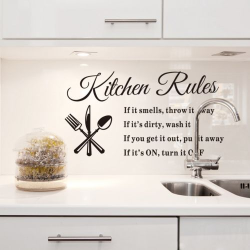 Kitchen Phrases For Wall