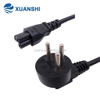 SII approved 3pin female male power cord with c5 connector