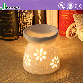 High quality cramics essential oil burner fragrance oil perfum lamp aroma oil burner for candle