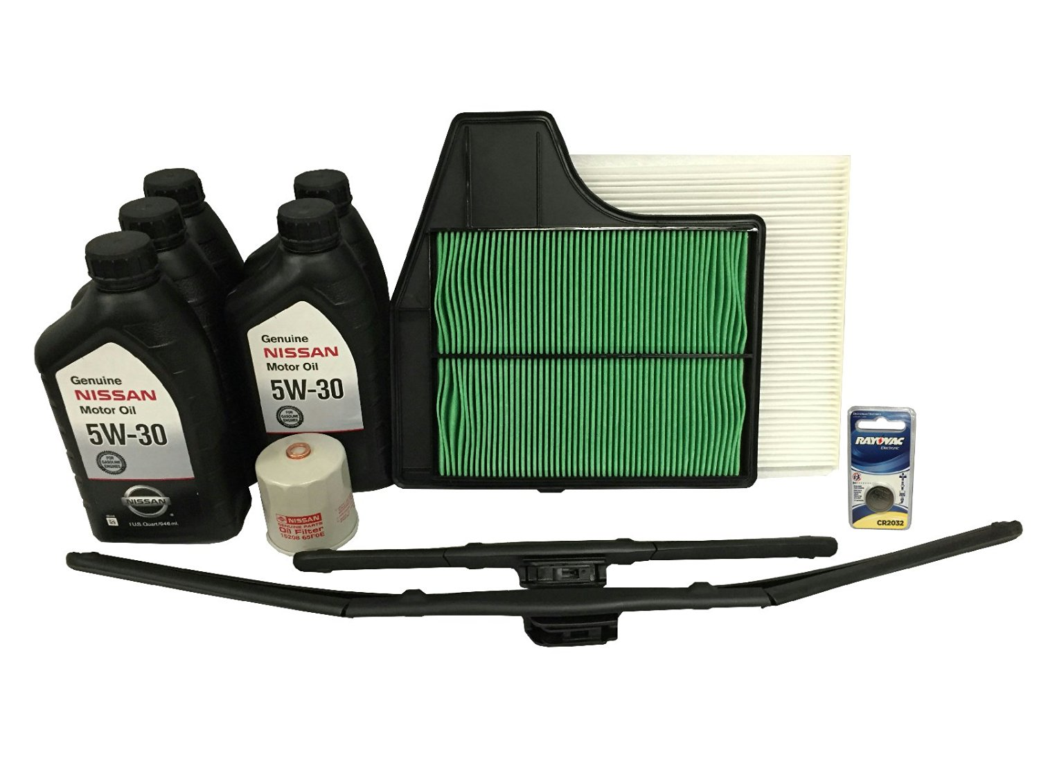 Genuine Nissan OEM 5W-30 Maintenance Kit Nissan Altima 2013-2016 2.5 4-Cylinder