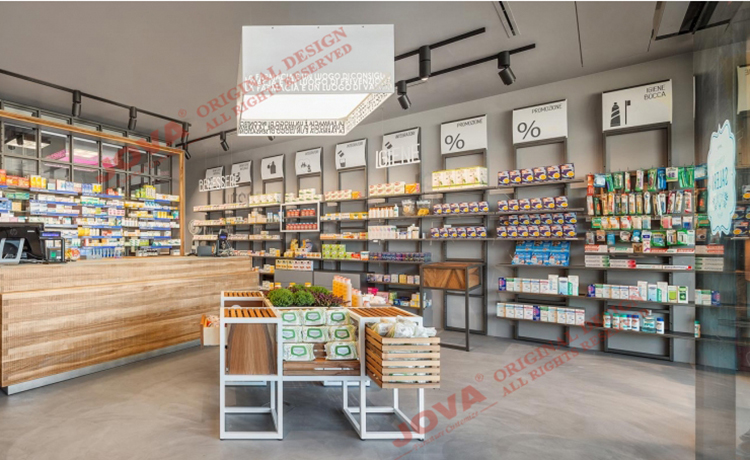 Retail Pharmacy Shop Interior Design Ideas