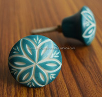 Stylish Hand Crafted Cabinet Knobs Resin Knobs Ceramic Door Knobs 4