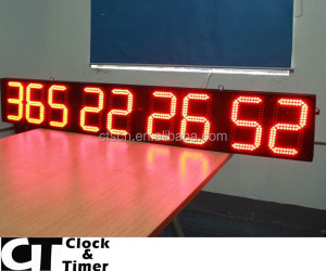 Giant Bright LED Outdoor 999/365 Days Digital Day Countdown Timer
