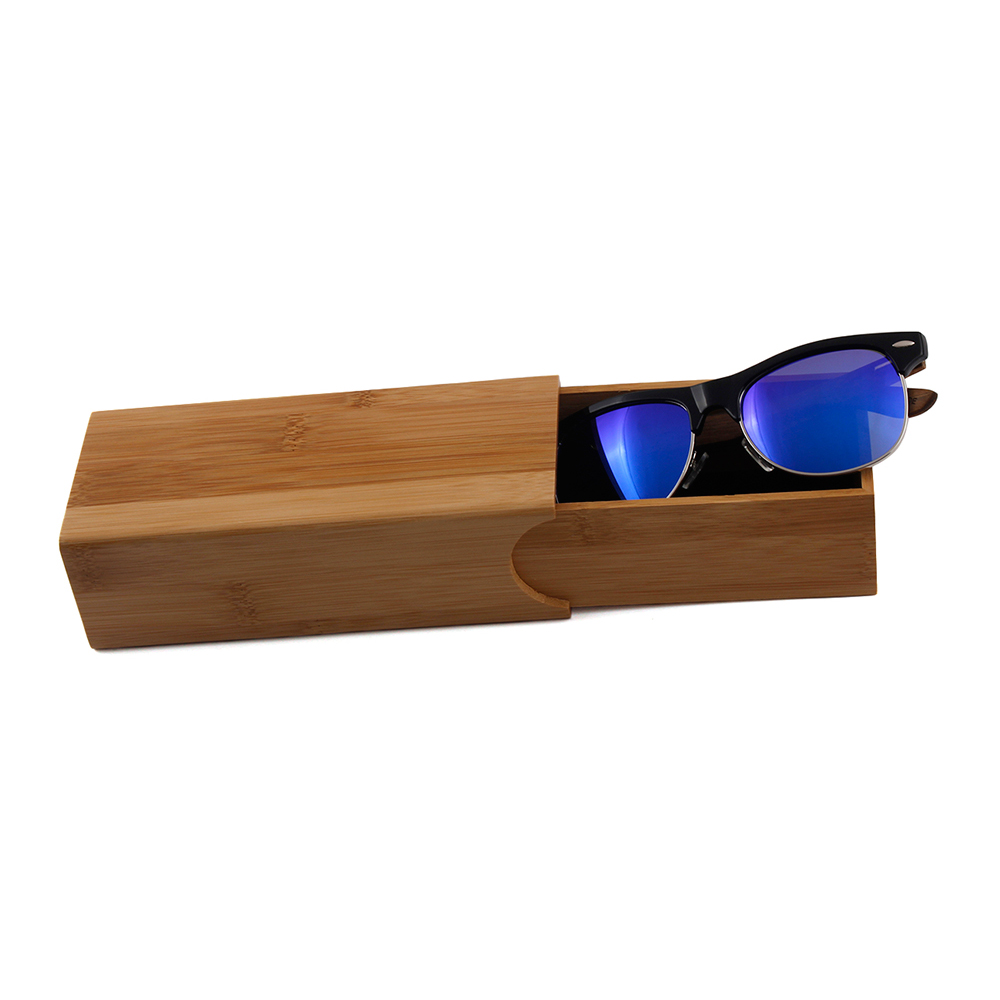 Cheap hot sale sunglasses boxes high quality bamboo case bambu boxes CASES MADE IN CHINA
