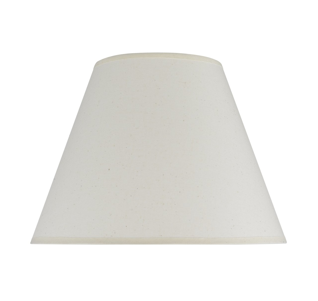 """Aspen Creative 32030 Transitional Hardback Empire Shape Spider Construction Lamp Shade in Ivory, 12"""" wide (6"""" x 12"""" x 9"""")"""