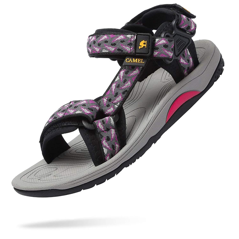 32c7f524d CAMEL CROWN Sport Sandals for Women Flat Sandals Beach Shoes Water Shoes for  Womens Hiking Sandals