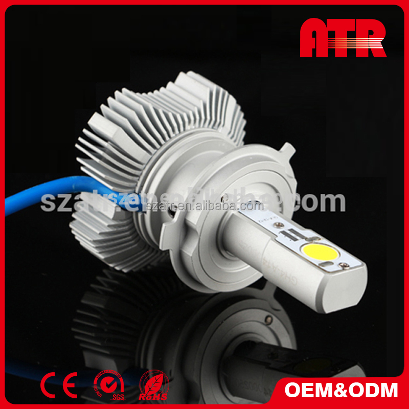 high brightness Instant start without time delay led headlight