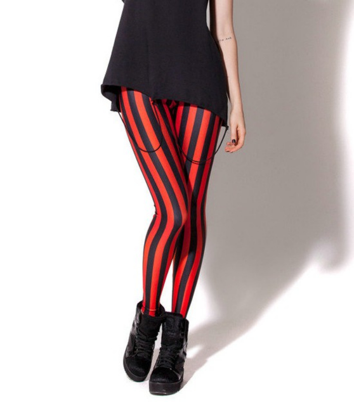 0e9dcd20d9e1e Get Quotations · HOT Sexy Fashion 2014 Pirate Leggins Pants Digital  Printing BEETLEJUICE RED LEGGINGS For Women