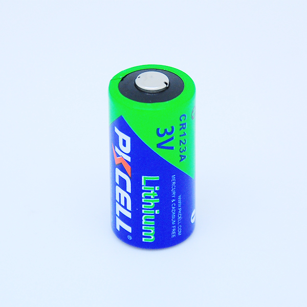 Lithium Battery 3V Li-MnO2 CR123A Dry Cell Batteries