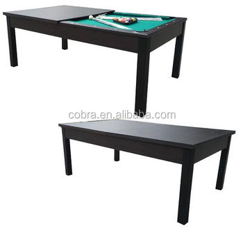 Combo Dinner And Pool Table 2 In 1 Mutli Purpose Game Table